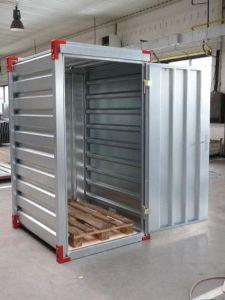 Mini container de stockage en kit