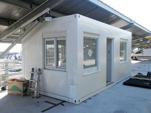 poste d'accueil modulaire